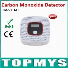 [ 38% OFF ] 2Pcs Carbon Monoxide Detector Tester Fire Alarm Monitor Co Sensor Detector With Lcd For Home Security Safety Tm-Vkl616