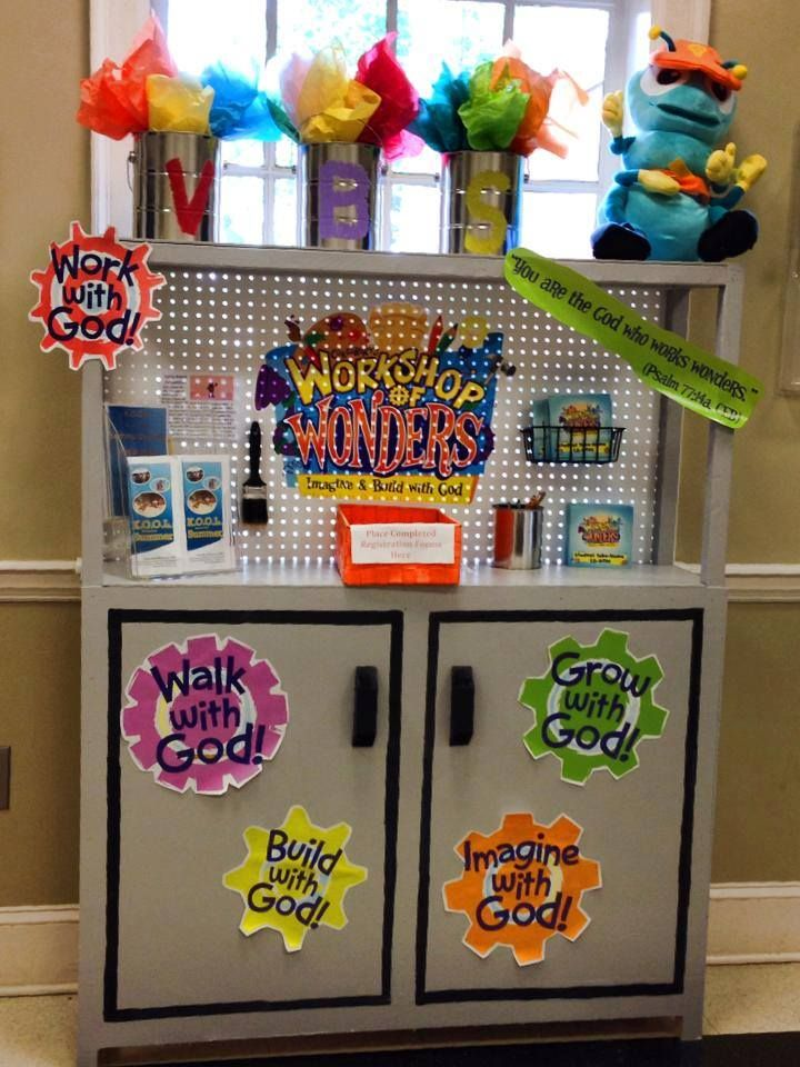 WOW VBS - Registration Display