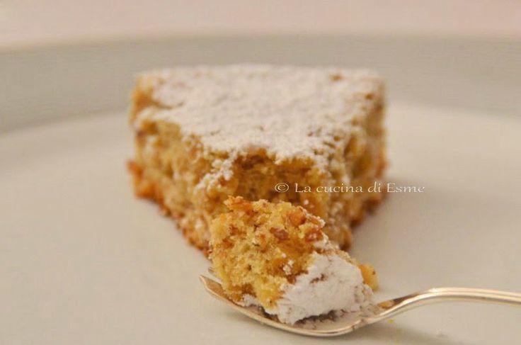 La cucina di Esme: Torta di nocciole senza farina, senza burro e senza olio