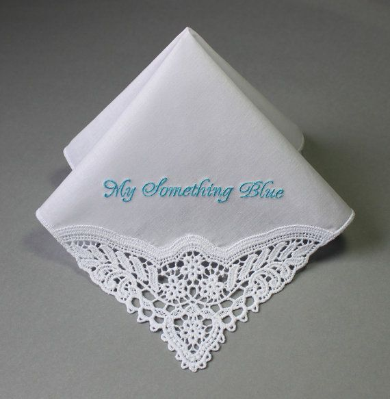 No Ugly Crying Personalized Wedding Handkerchief (#MFP) Embroidered The lady hankie is 100% soft cotton, its size is around 11 *11 with beautiful