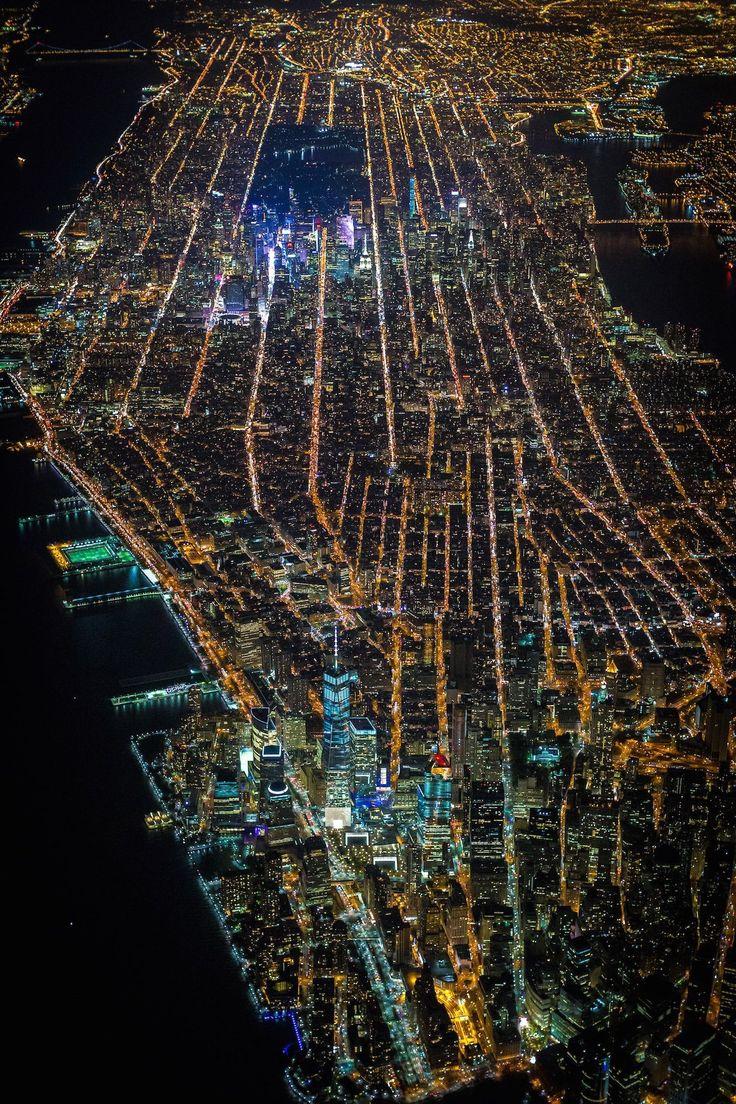 Estas são as mais incríveis fotos aéreas de Nova York já tiradas