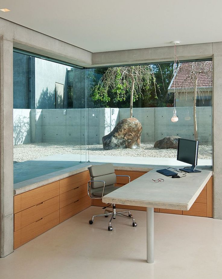 contemporary office designs. 23 Space-Savvy Home Offices That Utilize Their Corner Space Contemporary Office Designs
