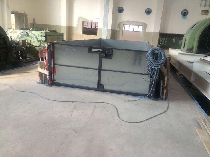 Der Lastenaufzug schafft bis zu 5,5 Tonnen Gewicht. Effizienz und großes Fassungsvermögen inklusive.