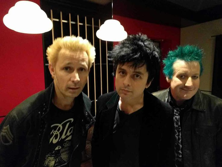 Green Day in the UK Nov 2016
