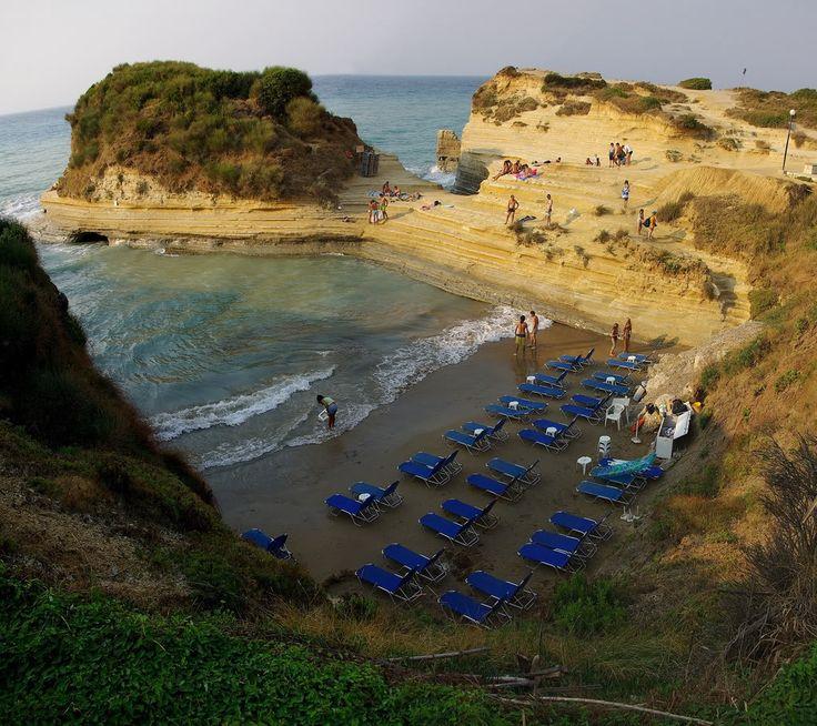 21 Canal D' Amour beach, Corfu island