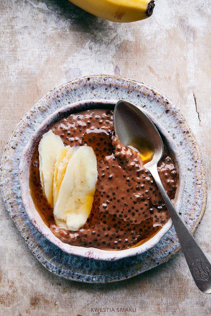 Czekoladowy pudding z tapioki