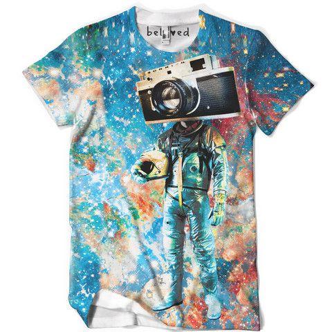 Major Tom Tee by Designer Michelle Sutterfield for Beloved Shirts