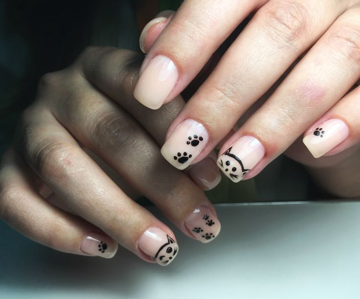 Gel painting, nail art, shellac, gel