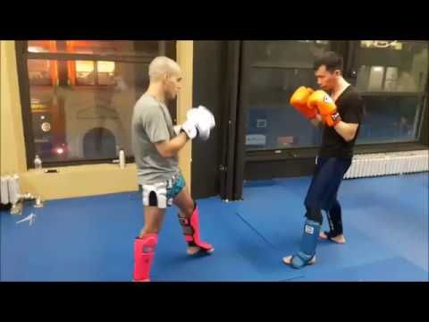 NY Muay Thai round kick and knee strike combinations  Video  Description New York City Muay Thai classes at  NY Best Kickboxing offers Muay Thai and San Da kickboxing classes in Midtown Manhattan NYC.  It was established in Midtown Manhattan more than 20 years ago to offer the best kickboxing,...