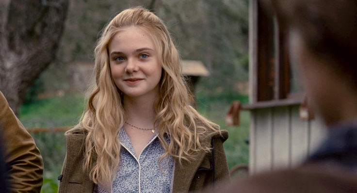 """Elle Fanning's character Lily in """"We Bought a Zoo"""" This is the scene where all the zoo workers are introduced to the Meeh Family."""