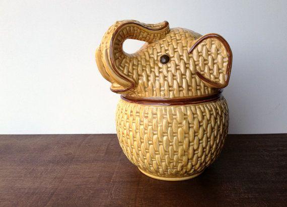Best 25 vintage elephant ideas on pinterest a z animal alphabet and circus elephants - Vintage elephant cookie jar ...