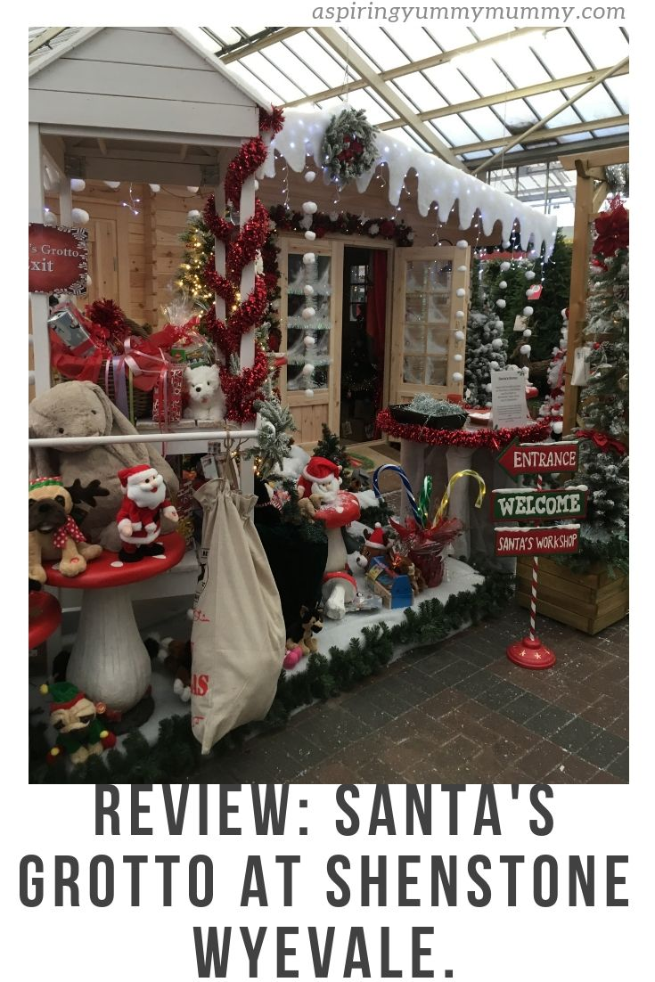 Our Review Of Santa S Grotto At Shenstone Wyevale Garden Centre