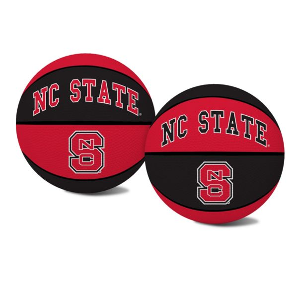 North Carolina State Wolfpack Red and Black Mini Crossover Basketball