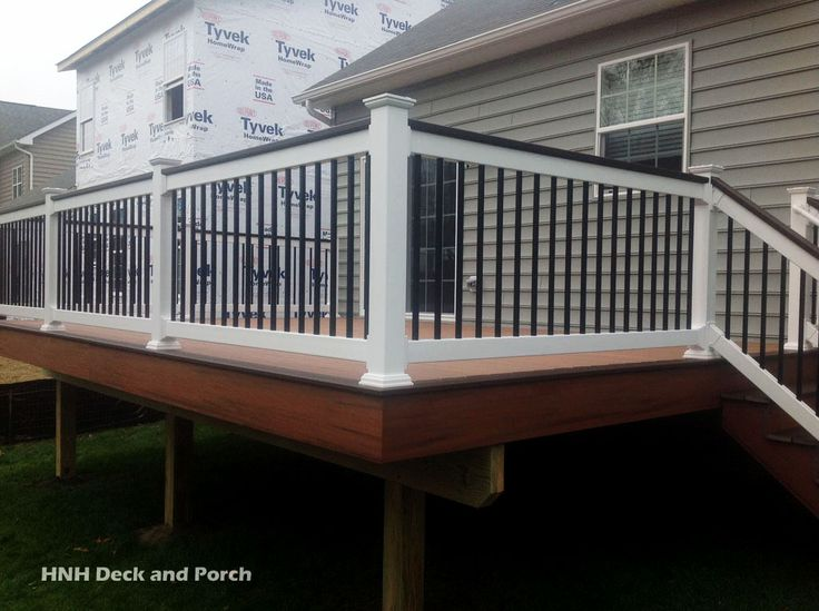 1000 images about hnh deck railings on pinterest wood for 43591 white cap terrace