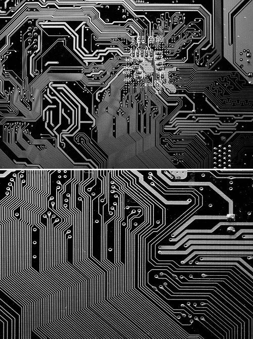 Printed Circuit Board Spoonflower And Printed On Pinterest