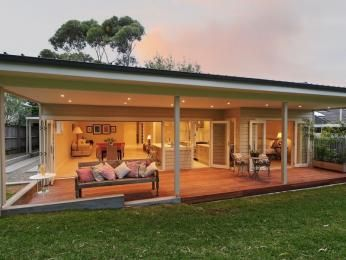Outdoor living design with verandah from a real Australian home - Outdoor Living photo 171913