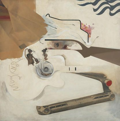Techniculture glorieuse, 1964 de Richard Hamilton (1922-2011, England)