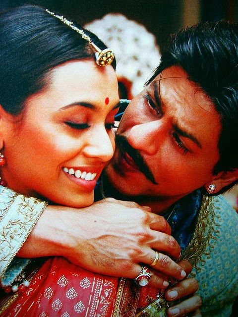 Shahrukh Khan and Rani Mukherjee - Paheli (2005)