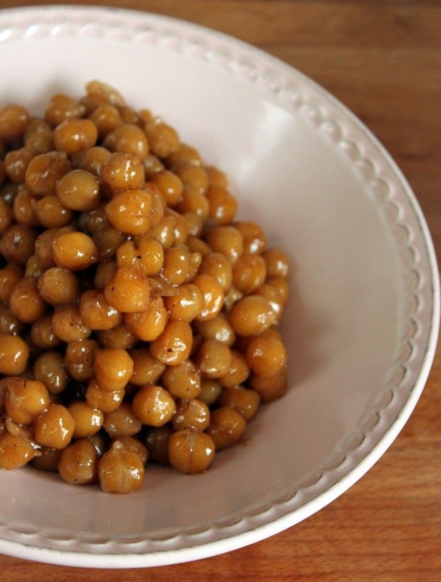 Spicy Caramelized Cheekpeas