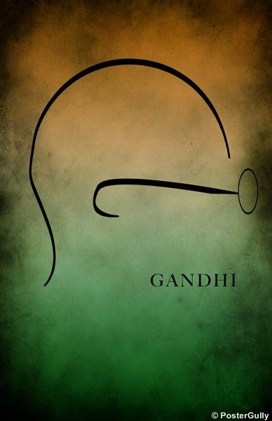 Home Decor Poster Online Shopping India | Gandhi | India Flag | PosterGully