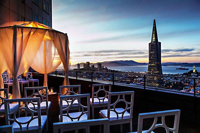 San Francisco Wedding Venues | Mandarin Oriental Hotel, San Francisco Rooftop
