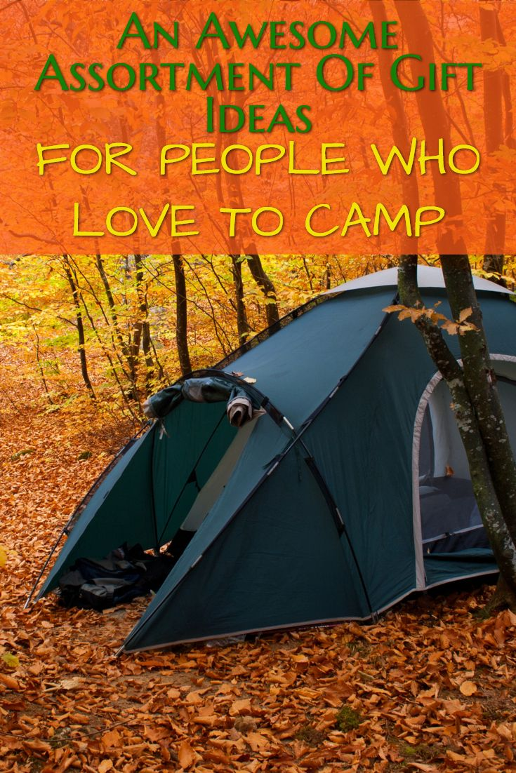 Have someone who loves to camp? We have gift ideas for all kinds of campers - men, women and couples. Awesome gifts for hikers and people who have RV campers.