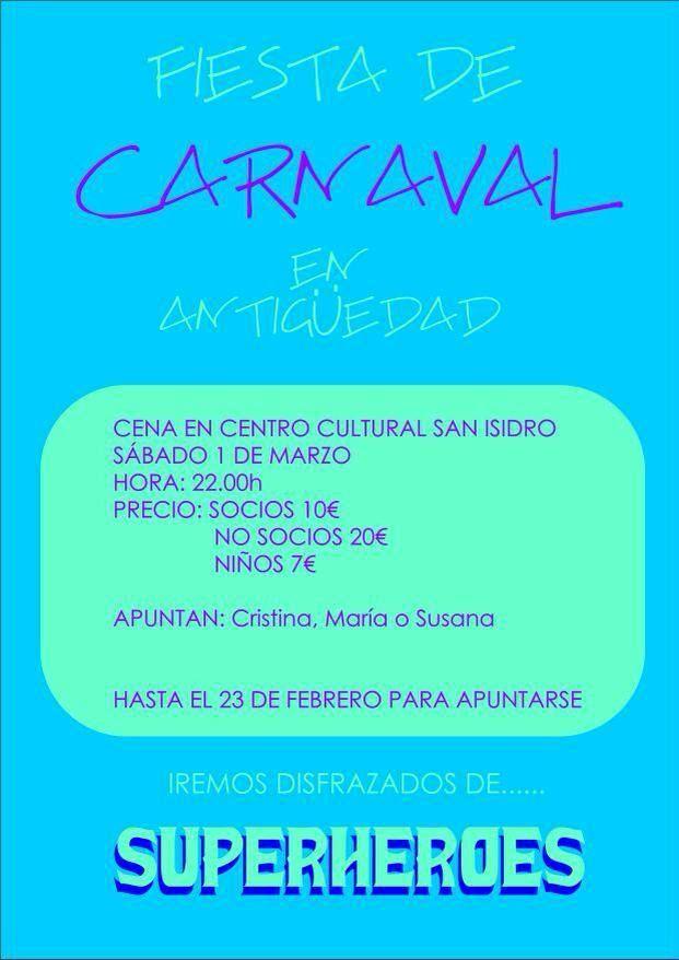 Carnaval Antiguedad