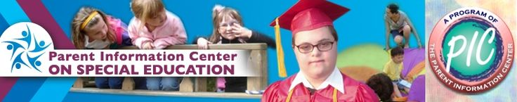 The Parent Information Center offers information on Special Education and obtaining services for children with (or suspected to have) Special Needs. [RESOURCE 7.3]