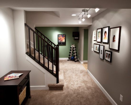 Best Basement Finished Basement Staircase Railings Design 640 x 480