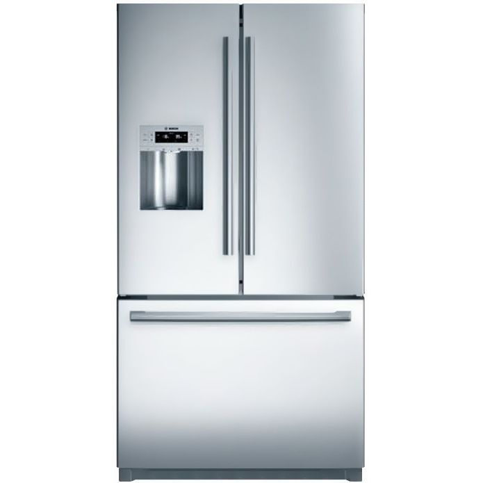 Bosch B26FT80SNS 36 800 Series French Door Refrigerator, Silver Stainless  Steel