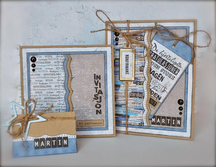 papirdesign-blogg: Konfirmasjon!
