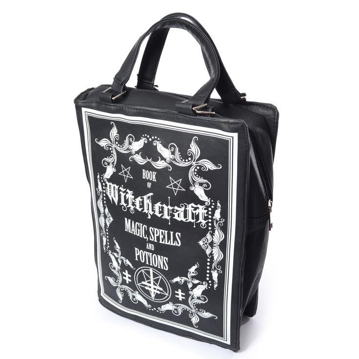 ✝Witchcraft Bag ✝ Non potrai più farne a meno, se sei una strega rispettabile! 🔮 #witch #shamorg #gothicbag