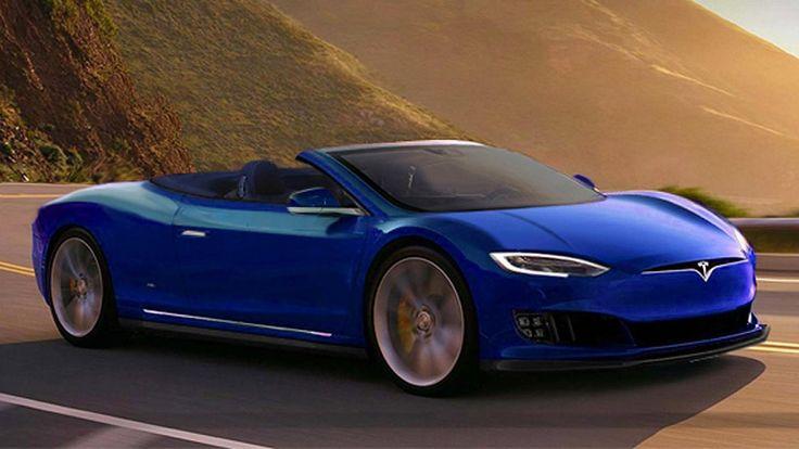 Artist design renderings (unofficial) of Tesla P100D coupe and cabrio #Tesla #Models #car #Automotive #cars #Autos