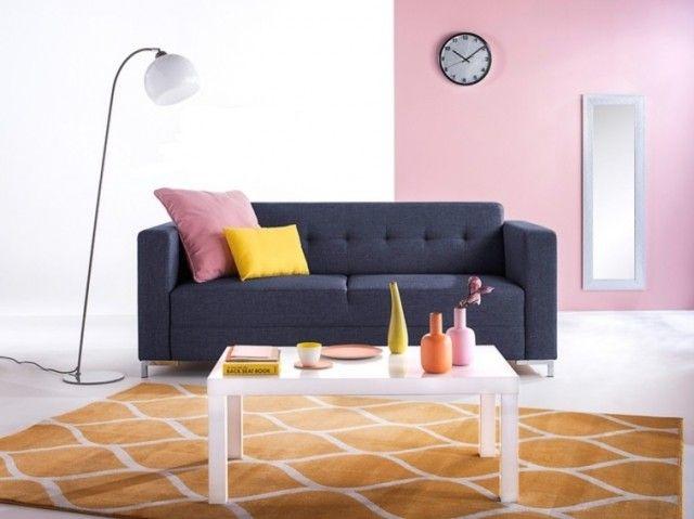 les 25 meilleures id es de la cat gorie canap scandinave. Black Bedroom Furniture Sets. Home Design Ideas