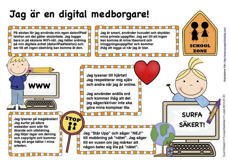 Hur eleven blir en digital medborgare i cybervärlden.