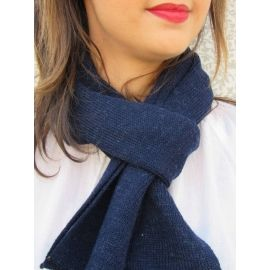 Knitted Scarf - Blue