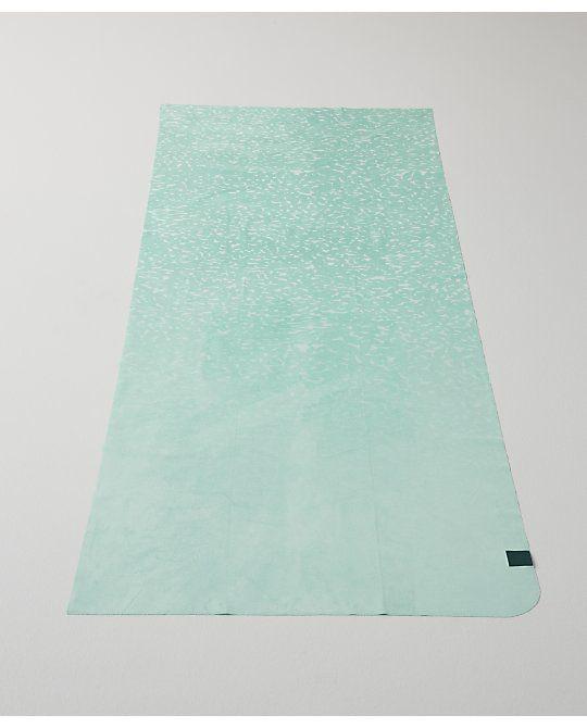 how to clean lululemon yoga towel