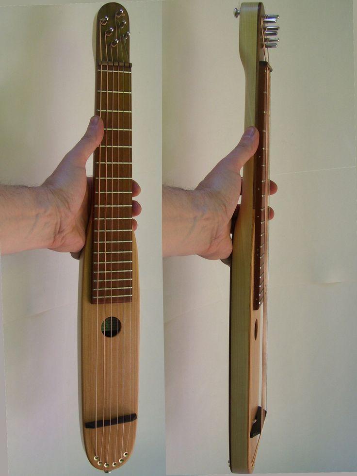 pocket guitar cigar box guitars pinterest. Black Bedroom Furniture Sets. Home Design Ideas