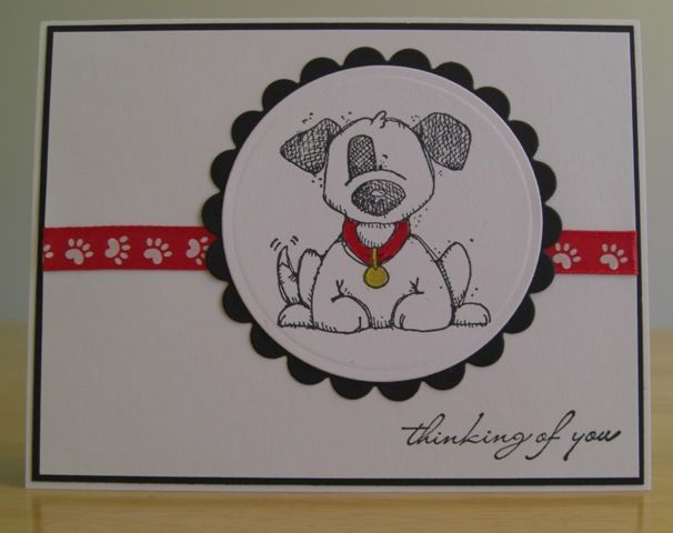 JULYCC1103 - Sympathy - Loss of Pet by jenn47 - Cards and Paper Crafts at Splitcoaststampers