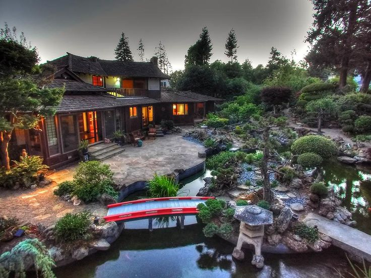 Beautiful Property In San Mateo Ca Features Japanese