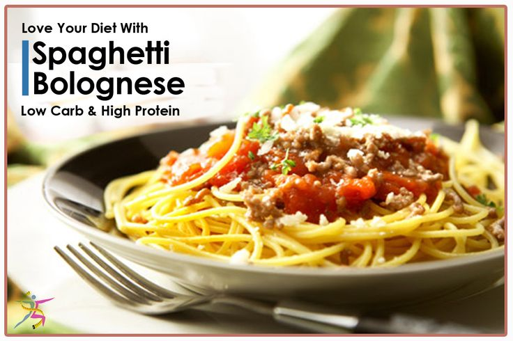Love your diet with Spaghetti Bolognese: 120 calories, low carb, high protein and fiber. Filling and fabulous.#highprotein #calories #lowcarb