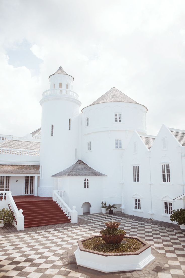 Jamaica's Trident Castle, a whimsical eight-room palace overlooking the Caribbean.