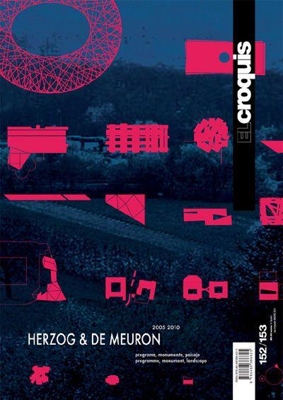 Księgarnia W-A.pl - EL CROQUIS 152/153: HERZOG & DE MEURON 2005-2010