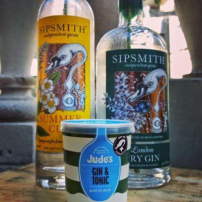 Sipsmith Gin + Jude's Ice Cream = GIN AND TONIC ICE CREAM | Vinspire