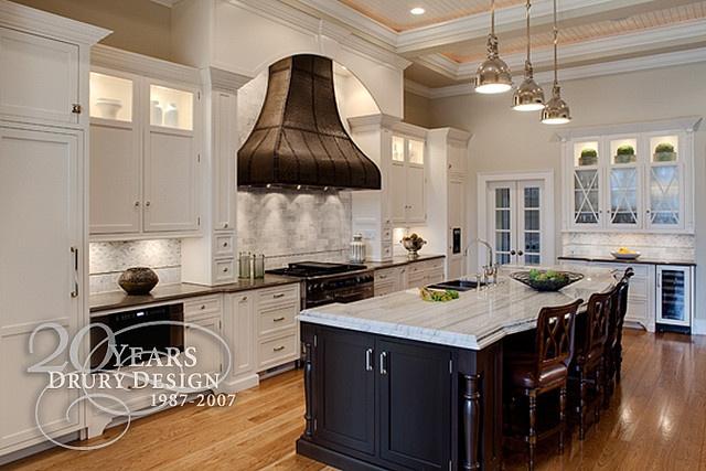 Traditional Kitchen Design by Drury Design, via Flickr