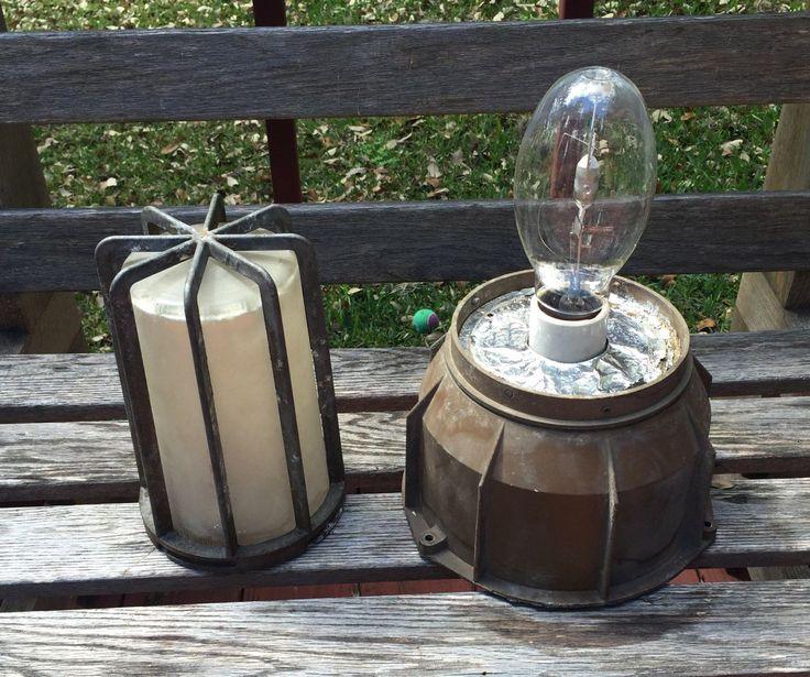 Antique Warehouse Lighting Fixtures: 1000+ Images About Lighting Bulkhead Lights On Pinterest
