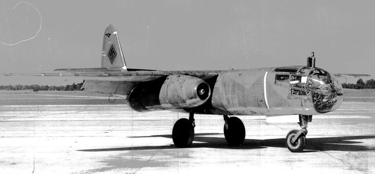 German Jet Bomber Arado Ar-234-v6 :: world's first operational jet-powered bomber https://en.wikipedia.org/wiki/Arado_Ar_234