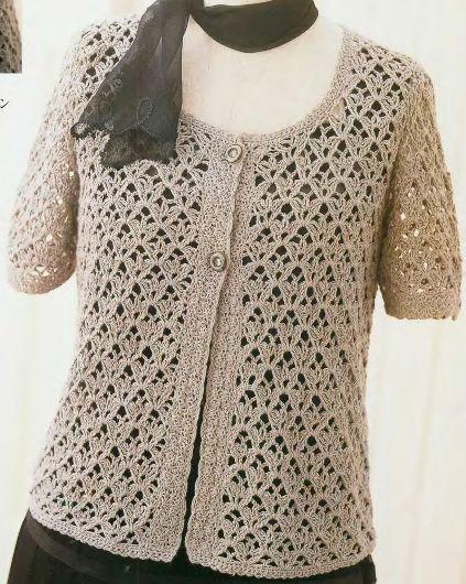 Crochet Jersey Stitch : ... jersey crochet forward finom fels? k?tEs mint a m?vEszet crochet