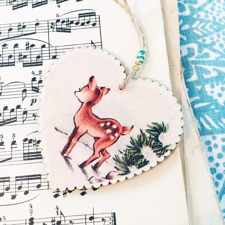 Christmasornament #imadethis  #bambi