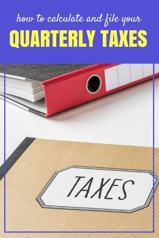 How To Calculate And Pay Quarterly Self Employment Taxes